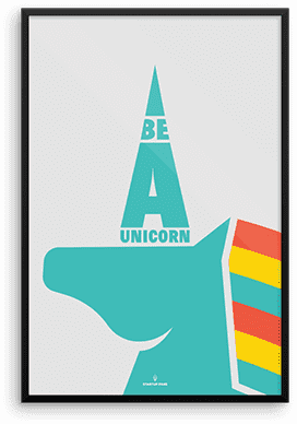 Print Art - Be a unicorn