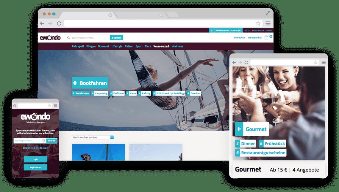 WooCommerce Webshop - Responsive Design für ewondo