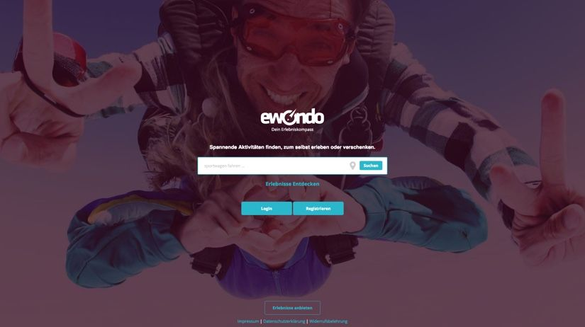 WooCommerce Webshop - Webdesign - ewondo Startseite