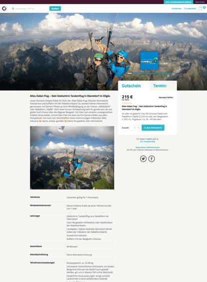 WooCommerce Webshop - Webdesign - ewondo Anbieterseite