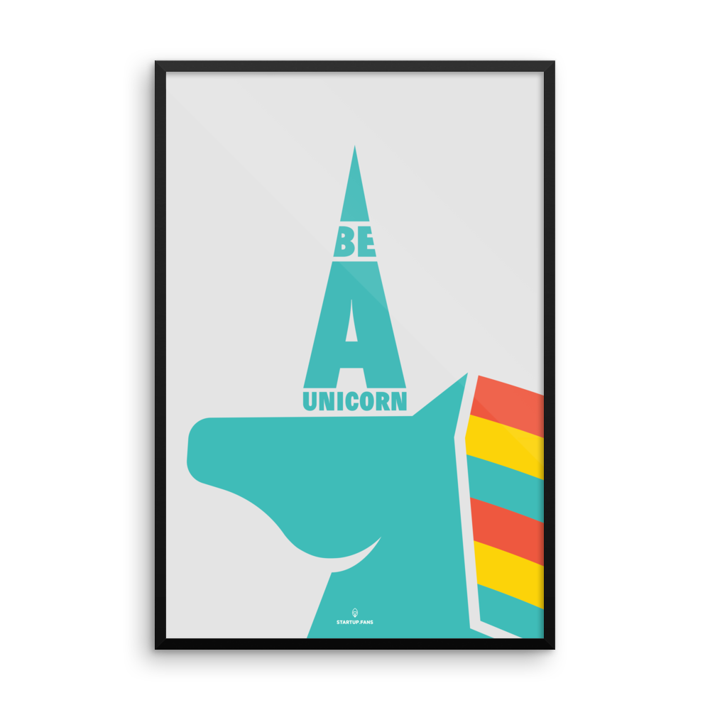 Poster - Be a unicorn