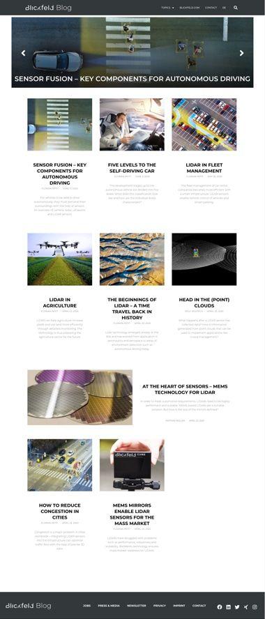 Blickfeld WordPress Blog - Vorschau 01