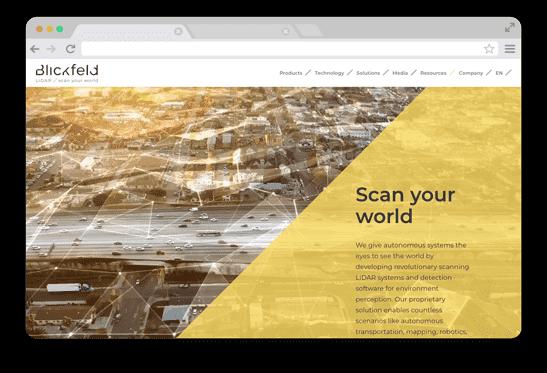 Blickfeld WordPress Betreuung